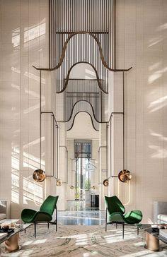 home interior dream Lounge Design, Design Entrée, Home Design, Hotel Lobby Design, Design Furniture, Plywood Furniture, Lobby Furniture, Interior Modern, Architecture