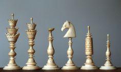 Chess pieces via.....