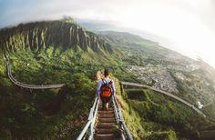 stairway to heaven; oahu