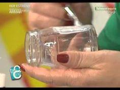 Manualidades con Guillermina   Reciclar frascos