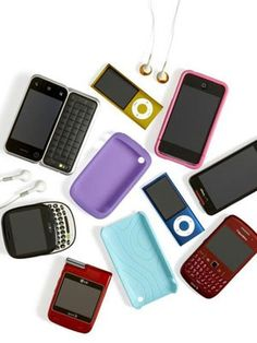 Handheld Electronics Cleaning Tips -  1. Filmy touchscreens 2. Sticking keypads 3. Clogged earbuds iPod iPhone Blackberry
