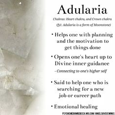 Adularia crystal meaning