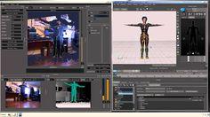 New Brekel Kinect Pro-Body Demonstration Realtime Mocap in Autodesk Motion Builder