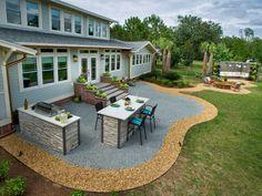15 Fabulous Backyard Patio Landscaping Ideas