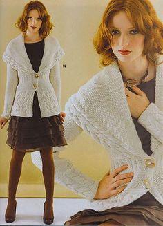 cape collar jacket - free pattern