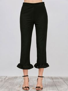 GET $50 NOW | Join Zaful: Get YOUR $50 NOW!http://m.zaful.com/ruffle-hem-capri-pants-p_269473.html?seid=3059213zf269473