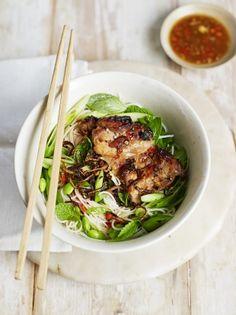 Chicken & spring green bun cha | Jamie Oliver