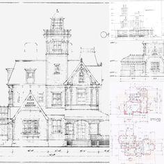 practical magic plans floor movie victorian blueprints lake mas imagens sobre kimberlydyan exterior