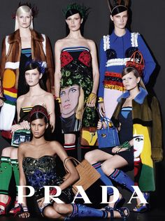 PRADA Colours At Their Best for Spring Summer 2014 Campaign