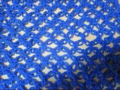 Crochet Scarf Solomon's Knot easy ganchillo Punto Nudo de Salomón o Punt...