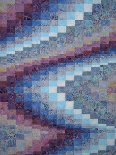 My batik bargello