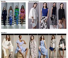 Preview Spring Summer 2015 apparel, shoes and make up by Miu Miu, Narciso Rodriguez, Nina Ricci ----- pre-collezione moda trend Primavera Estate 2015 abbigliamento scarpe accessori e trucco