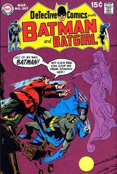 Detective Comics presents Batman & Batgirl #397  - Pencil & Inks by Neal Adams