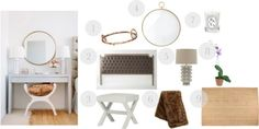 bedside | feminine + luxe | design board sale until Oct 22nd