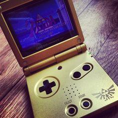 Going for gold: Nintendo GameBoy Advance Zelda Triforce Edition