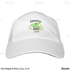 Cute Happy Pi Day Headsweats Hat