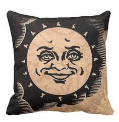 Ouija Sun throw pillow by StuffoftheDead on Etsy