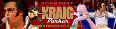 KRAIG PARKER - International Award Winning Artist From Las Vegas to London, Kraig Parker has been called the ultimate image of Elvis Presley. He has been astonishing crowds for over 16 years with his amazing tribute to the king of rock and roll. All ages are shook up by Parker's amazing likeness to Elvis in look, voice, moves and stage presence. There is screaming, there is swooning and there is the trademark scarf giveaway.
