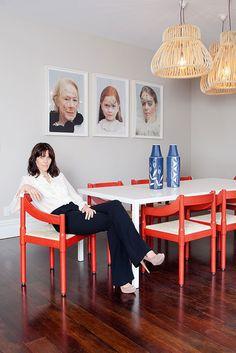 Karen Walker's dining room