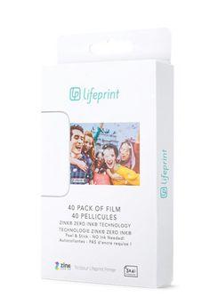 Lifeprint 3x4.5 Photo Film - 40-Pack  https://store.apple.com/xc/product/HLGQ2ZM/A