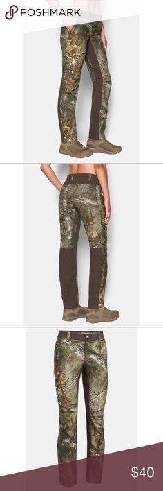 7637304260284 Under Armor Early Season Hunting Pants Realtree 10 Under Armour Womens Size  10 Early Season Field