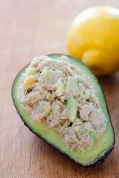 Paleo Avocado Tuna Salad - a quick and easy paleo lunch or snack recipe in 5 minutes with just 4 ingredients. {gluten-free, grain-free, dairy-free} | Cook Eat Paleo