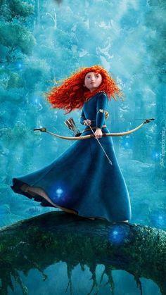 Merida, my favourite Disney princess. Disney Rapunzel, Film Disney, Disney Magic, Disney Art, Disney Movies, Brave Disney, Pixar Movies, Disney Princess Outfits, Disney Princess Pictures