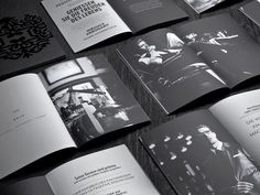 """Branding Inspiration New Corporate Identity for Hörst, designed by boutique. """"The Hörst branding positions this high-end men's clothing designer and Magazine Images, Magazine Design, Brochure Layout, Brochure Design, Identity Design, Brand Identity, Brochure Inspiration, Design Inspiration, Creative Inspiration"""