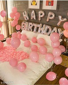 Accessories Happy Birthday Silver Foil Balloon+ 30 Pink Metallic Balloons Material: Latex  Size: 16 in Description: It Has 1 Piece Of Happy Birthday Foil Balloon & 30 Pieces Of Pink Metallic Balloons Sizes Available: Free Size *Proof of Safe Delivery! Click to know on Safety Standards of Delivery Partners- https://ltl.sh/y_nZrAV3  Catalog Rating: ★4.1 (7981)  Catalog Name: Free Mask Essential Beautiful Happy Birthday Foil Balloons CatalogID_817882 C127-SC1621 Code: 023-5482759-