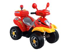 Red/Yellow 360 4-Wheeler for $74.99