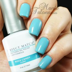 LeChat Perfect Match Sugar Me Up Collection swatches and nail art. Shellac Nail Polish, Gel Polish Colors, Nail Manicure, Gel Color, Spring Nail Colors, Spring Nails, Summer Colours, Acrylic Nail Designs, Acrylic Nails
