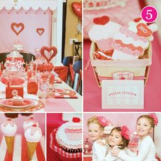 Sweet Shoppe Valentine's Day Party