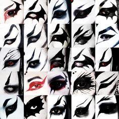 Punk Makeup, Grunge Makeup, Gothic Makeup, No Eyeliner Makeup, Makeup Art, Goth Eye Makeup, Makeup Inspiration, Makeup Inspo, Alternative Makeup