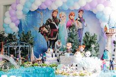 aniversário tema frozen, olaf, elsa, theme frozen, birthday party