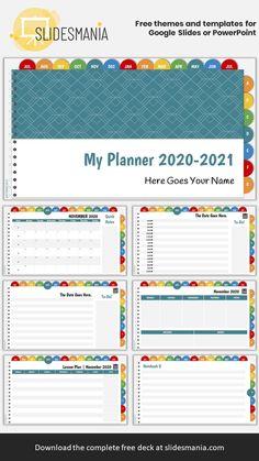 Teacher Planner Free, Online Schooling, Powerpoint Slide Designs, Teacher Page, Teacher Lesson Plans, Lesson Plan Templates, Planners, Apps, Organization