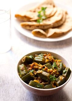 collection of indian bhindi recipes or okra recipes. bhindi also known as okra or lady finger is cooked in different ways in india. most of bhindi recipes are easy