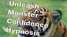 Unleash Monster Hypnosis Confidence Confidence, Youtube, Youtubers, Youtube Movies, Self Confidence
