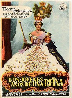 Los jóvenes años de una reina (1955) Austria. Dir: Ernst Marischka. Comedia. Romance. S. XIX - DVD CINE 291