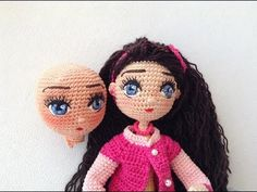 Amigurumi for Beginners How to embroider doll eyes Livia amigurumis By Petus FIRST PART – Amigurumi Patterns Bunny Crochet, Crochet Eyes, Crochet Amigurumi, Crochet Slippers, Amigurumi Patterns, Amigurumi Doll, Crochet Dolls, Easy Crochet, Crochet Baby