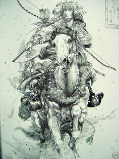 Samurai horseman