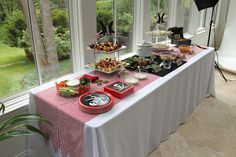 pirate themed food table
