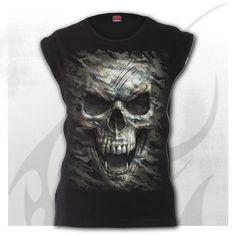 SPIRAL DIRECT APOCALYPSE T-Shirt//Tattoo//Skull//Goth//Viking//Warriors//Army//Bone//Top