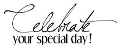 desert diva: Celebrate your special day !