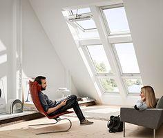 Ovenlysvinduer i tagetagen og tagboligen | VELUX