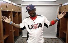Reds second baseman Brandon Phillips is proud to wear the red, white and blue.