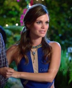 "Seen on Celebrity Style Guide: Hart of Dixie Fashion: Rachel Bilson as Zoe Hart wore the Three Floor Look See Dress on the Hart of Dixie episode ""Friends in Low Places"""