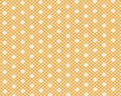 Patchworkstoff SCRUMPTIOUS, Punktemuster, orange