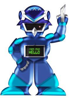 Robotmin by violetmin.deviantart.com on @DeviantArt