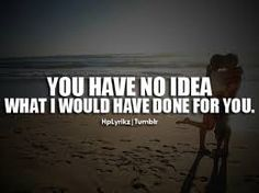 Image result for you gave up on me quotes