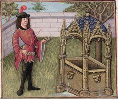 [folio 011v] MS. Douce 195 (Le roman de la rose) Robinet Testard  http://romandelarose.org/#browse;Douce195
